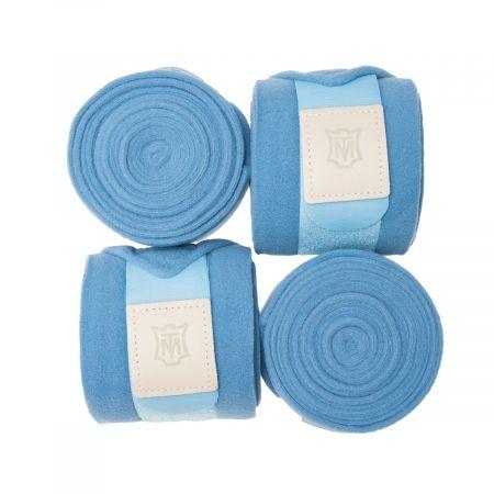 Fleece Bandagen cornet blue