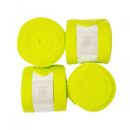 Fleece Bandagen apfelgrün