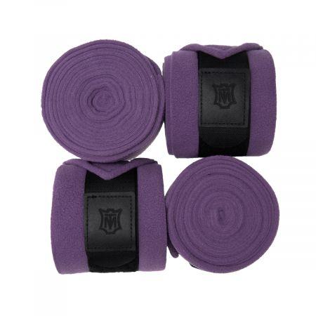 Fleece Bandagen violette