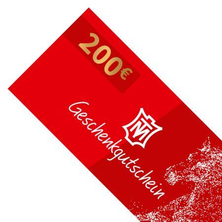 Geschenkgutschein 200 Euro