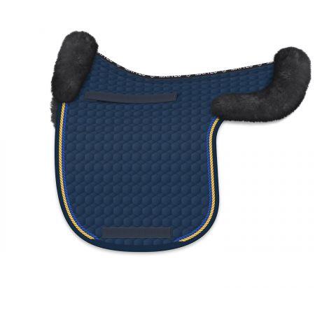Satteldecke Dressur Gr. XL blau/graphit (Einzelstück)